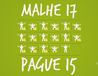 Malhe 17 x Pague 15 - Unique Academia