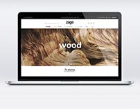 Zago Store Web site