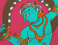 ~ Leela ~ krishna through kathak
