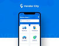 Vendor City - iOS Design UI UX Project