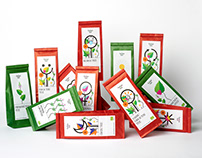 Energia Talu tea packaging