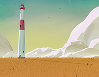 The Lighthouse (Concept by Goro Fujita) - Blender 3D