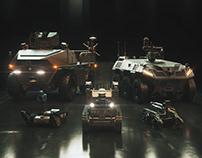Hanwha Defense Unmanned Ground Vehicles