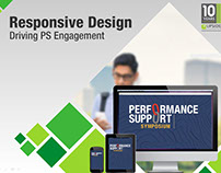 new PPT presentation design for client new product laun