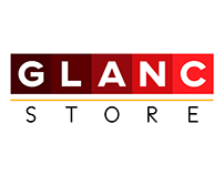 GLANC STORE Logo and Branding Design
