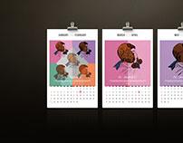 Archibald Calendar 2016