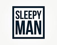 Logo for the Sleepy Man band
