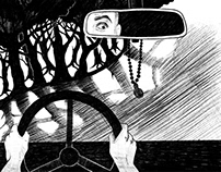 Illustration for SCARY STORIES