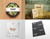 Hot Stone restaurant - Branding
