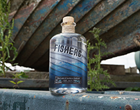 Packaging / Fishers Gin