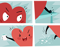 Hot Hearts Comic