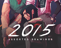 2015: Assorted drawings