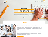 Printing company website. UI/UX