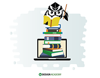 Design Academy - icons and illustrations