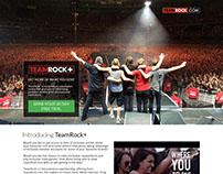 TeamRock - TeamRock+ Promo Page