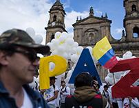 COLOMBIA PEACE TREATY SIGNED/ACUERDO DE PAZ SE FIRMA