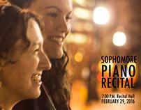 Piano Recital Posters