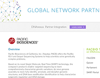 DNAnexus New Partner's Page Design