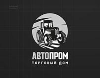 Логотип авто-магазина. Запчасти для тракторов