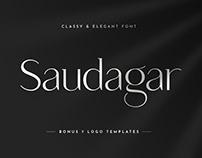 Saudagar Display Font