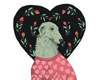 Animal shelter charity merchandising design