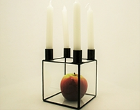 Candlestick for four candles