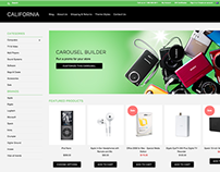 California Responsive E-commerce Theme
