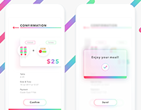 Daily UI #054 - Confirmation