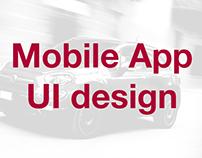 MSV Sustavi, Autocommerce, Fiat Hrvatska Mobile App UI