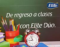 Elite Dúo. Regreso a Clases 2015