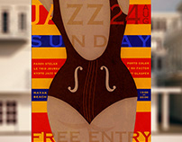 JAZZ SUNDAY poster