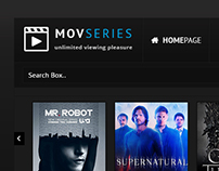 MOVSERIES | Movie & Series Design