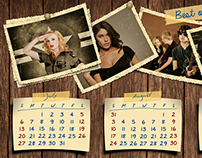Retro Photos Calendar