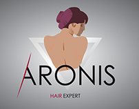 Aronis HairExpert business card