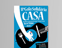 CASA - Poster Design - Homeless Charity Event