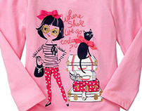 Apparel Graphics - Toddler Girls