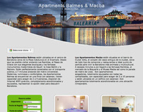 Web design · Accommodation booking, Barcelona