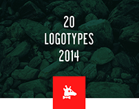 20 LOGOTYPES OF 2014