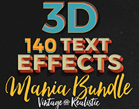 140 Text Effects Bundle