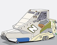 New Balance illustrations