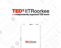 Tedx IITRoorkee App