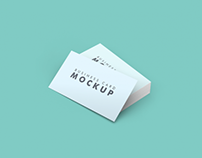Free Clean Business Card Mockup Psd