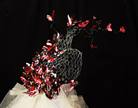 The Butterfly Dress - Fashion and Sculpture design