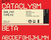 0112K19_CATACLYSM Font