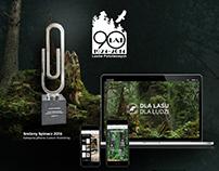 90 lat Lasów Państwowych – website