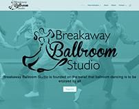 Breakaway Ballroom Studio Website