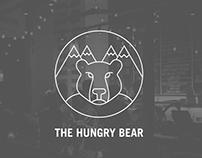 Marca y aplicación para restaurante The Hungry Bear