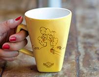 Canecas Cafeína - Ilustrações