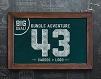 Bundle Adventure 43 Badges & Logo