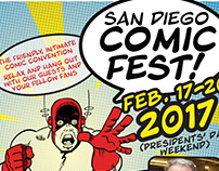 San Diego Comic Fest 2017 - Workshops & Appearances